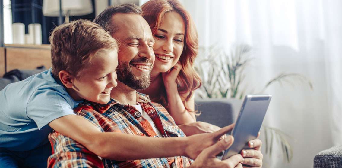 Compartilhe os melhores momentos em família com a Trygè