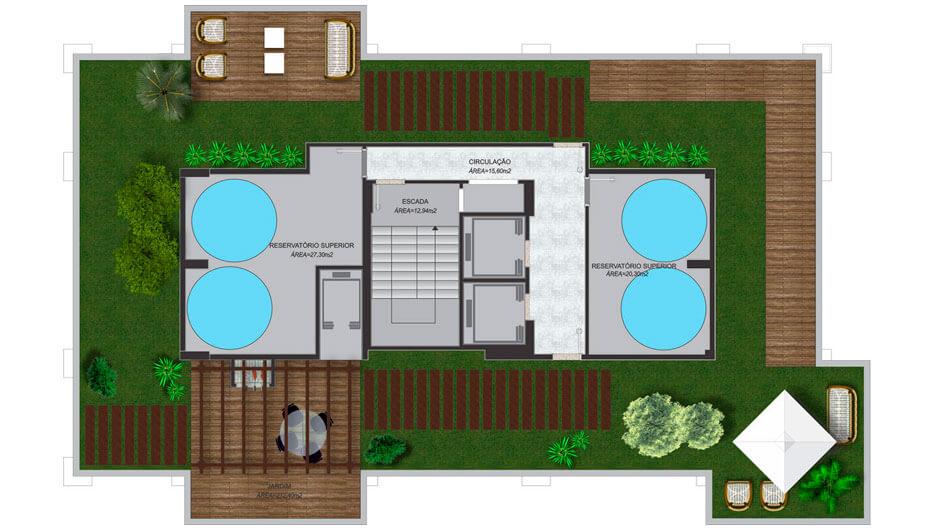 Plantas Residencial Abu Dhabi